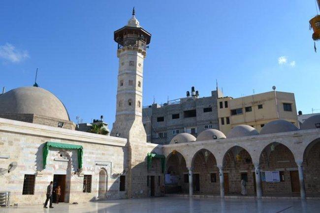 مسجد العمري بغزة