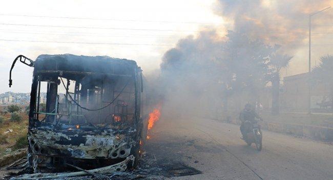 7 قتلى في تفجير سيارة مفخخة في ادلب بسوريا -