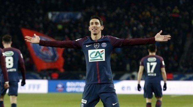 كأس فرنسا: دي ماريا يضع سان جيرمان في نصف النهائي -