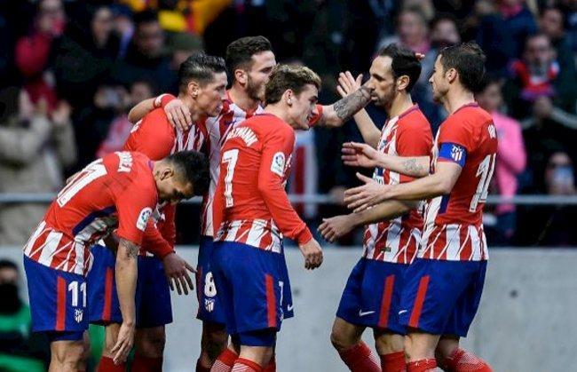 أتلتيكو يعزز موقعه في المركز الثاني بالدوري الإسباني -