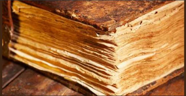 كتاب مصنوع من الجلد البشري في كازاخستان! -