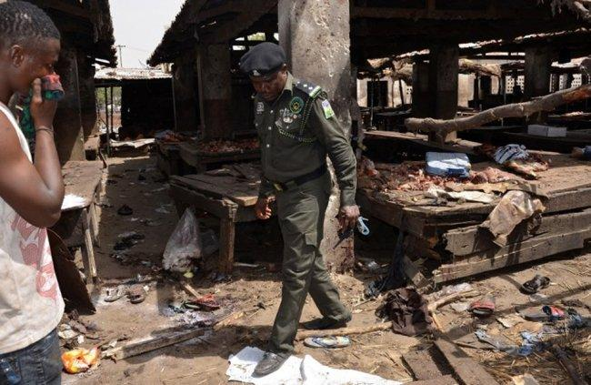 تفجير انتحاري في نيجيريا يوقع عشرات القتلى -