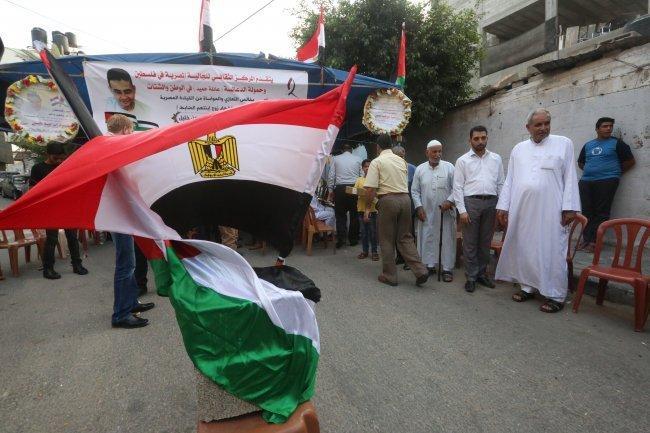 بيت عزاء في غزة لضابط مصري قُتل بهجوم سيناء -
