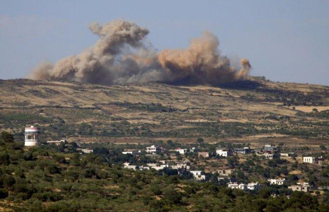 دبابات الاحتلال تقصف موقعاً سورياً بسبب  تجديد الصيانة  -