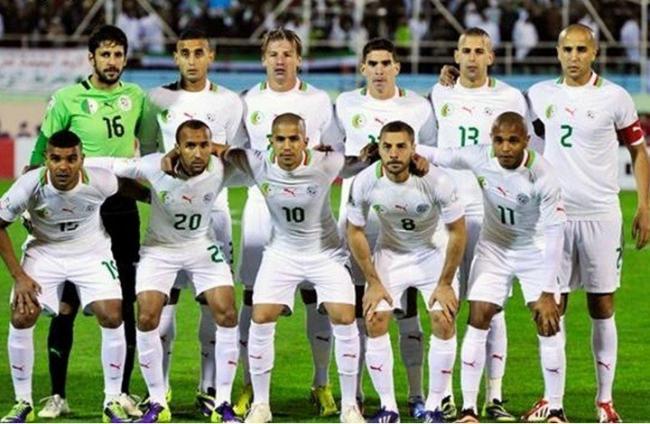 الجزائر أول المتأهلين إلى أمم أفريقيا 2015 -