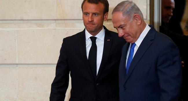 ماكرون لنتنياهو: يجب إيجاد حل للأزمة الإنسانية في غزة -