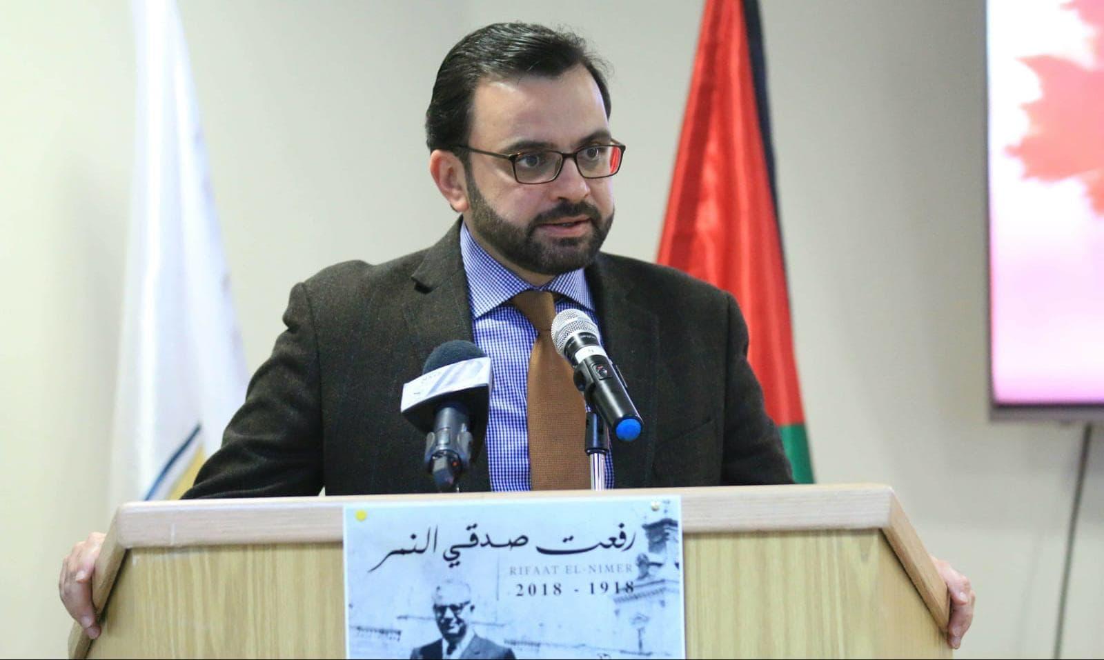 وزير الثقافة ايهاب بسيسو